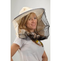 Kapelusz pszczelarski z materiałem