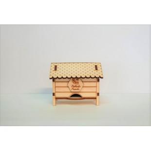 Ul prezentowy drewniany 2x50g