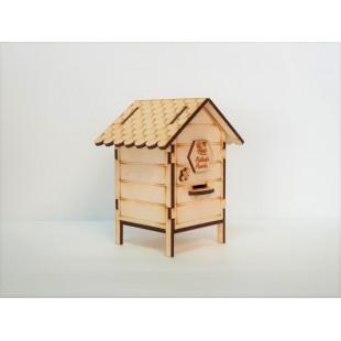 Ul prezentowy drewniany na 250g