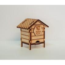 Ul prezentowy drewniany 50g